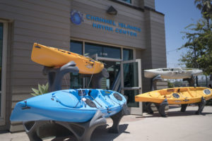 Channel Islands Kayak center