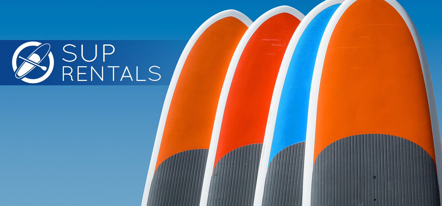 CI Kayak Center SUP rentals